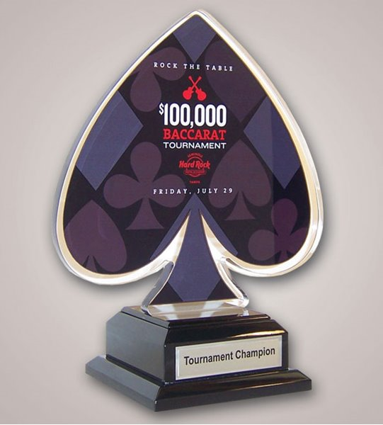 Picture of Logo-Cut Custom Acrylic Award