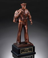 Picture of US Navy Trophy Sculpture