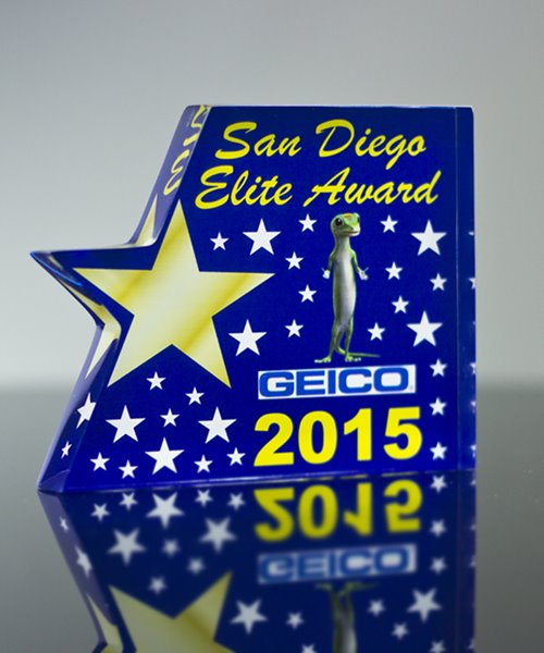 Picture of Acrylic Star Paperweight