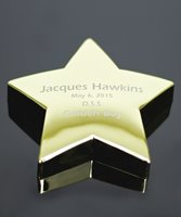 Picture of Brass Star Paperweight