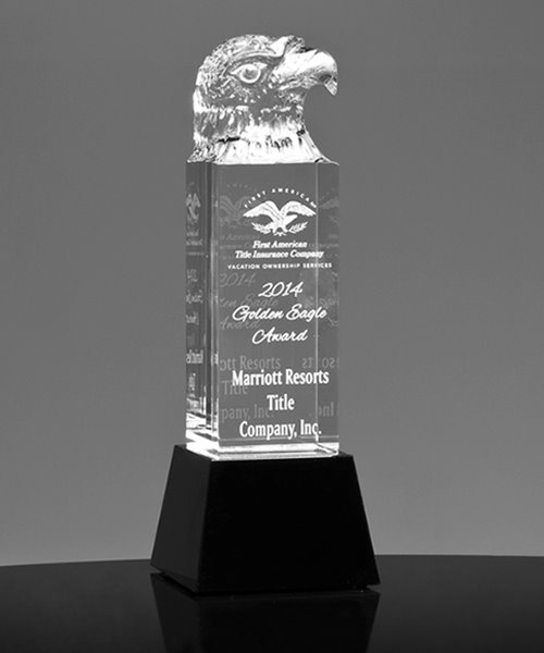 Picture of Crystal Eagle Award