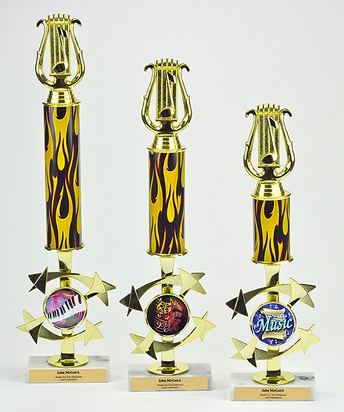 Picture of Music Lyre Galaxy Trophy