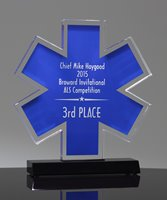 Picture of Acrylic Star of Life Award