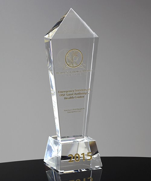 Picture of Crystal Monument Award