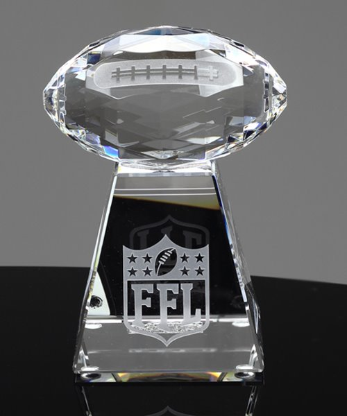 Picture of Faceted Crystal Football