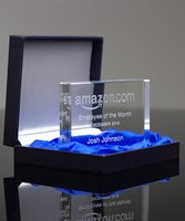 Picture of Flat Edge Crystal Paperweight