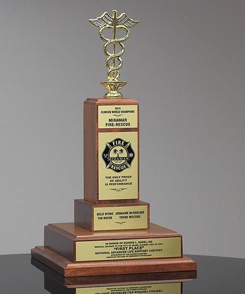 Picture of Custom Caduceus Trophy