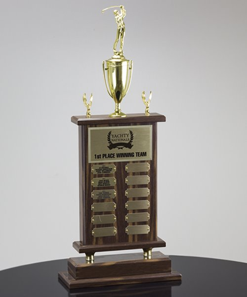 Picture of Perpetual Recognition Golf Trophy
