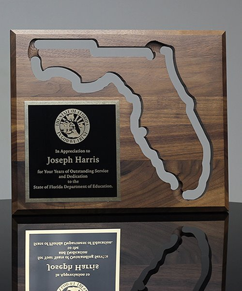 Picture of State of Florida Wall Plaque