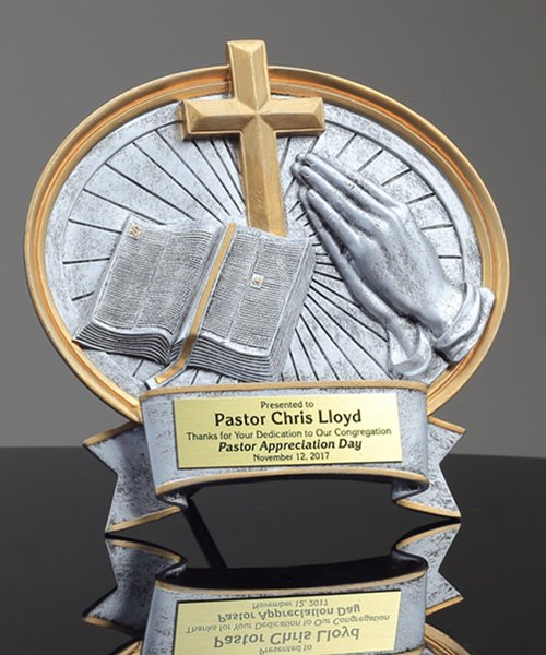 Picture of Religious Oval Award