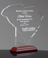 Picture of State of South Carolina Acrylic Award