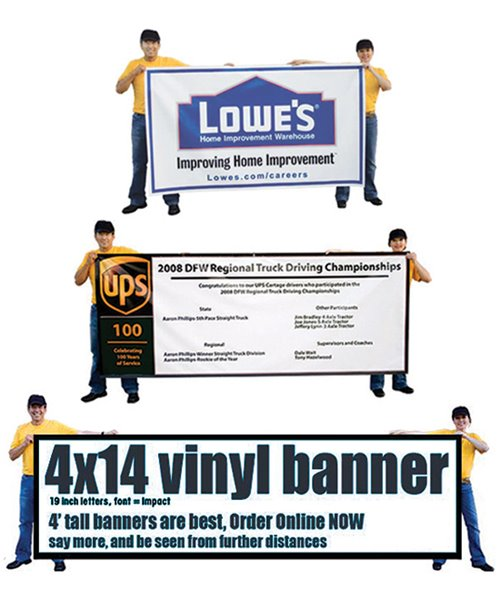 Picture of Vinyl Banners with Digital Printing