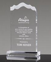 Picture of Multi-Edge White Cap Acrylic Award