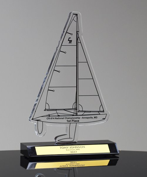 Picture of Custom Sailboat Award