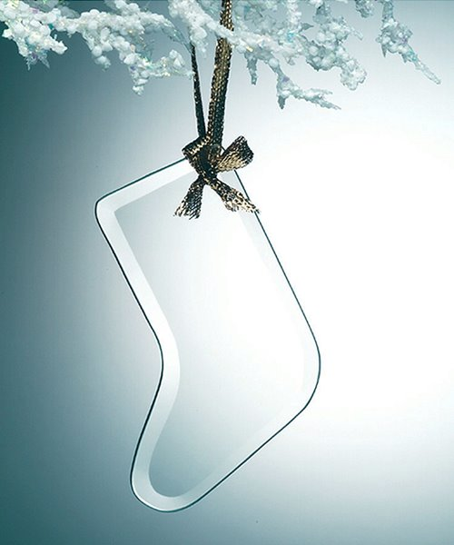 Picture of Glass Stocking Tree Ornament