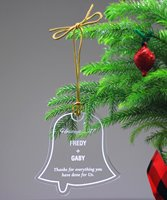 Picture of Acrylic Bell Ornament