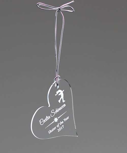 Picture of Acrylic Heart Ornament