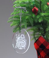 Picture of Acrylic Round Ornament