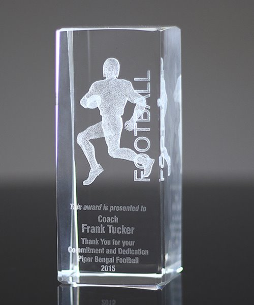Picture of Collegiate Series 3D Football Crystal