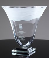Picture of Lunar Tides Trophy Vase