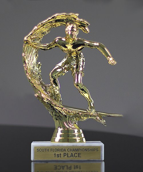 Picture of Surfer Mini Trophy