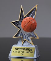 Picture of Bobble Action Basketball Award