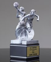 Picture of Dual Action Female Basketball Award