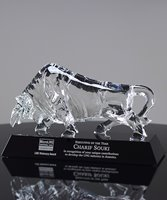 Picture of Crystal Bull Award