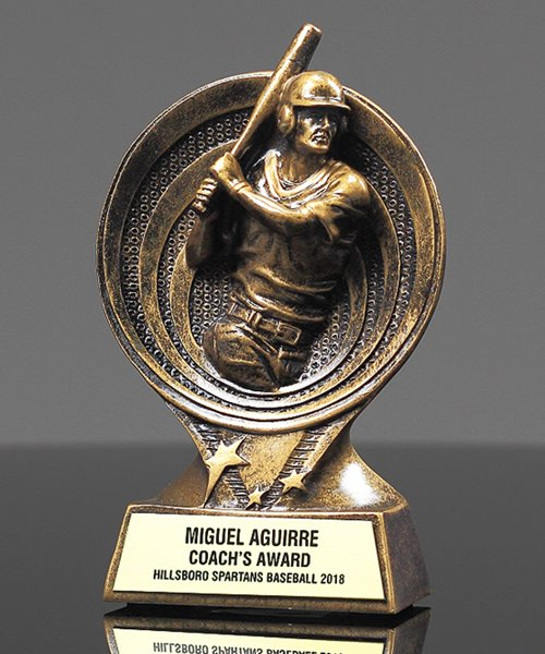 Picture of Saturn Baseball Trophy