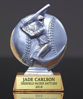 Picture of Motion-X Silver Stone Baseball Award