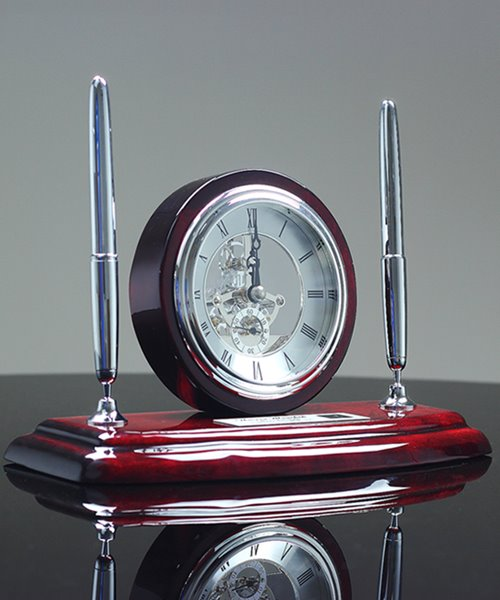 Picture of Executive Clock and Pen Set