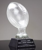 Picture of Glass Football Trophy