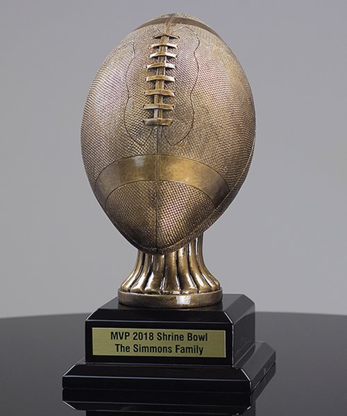 Picture of Goldtone Football Replica