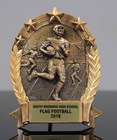 Picture of 5-Star Football Plaque