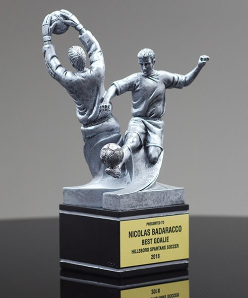 Picture of Dual-Action Soccer Award