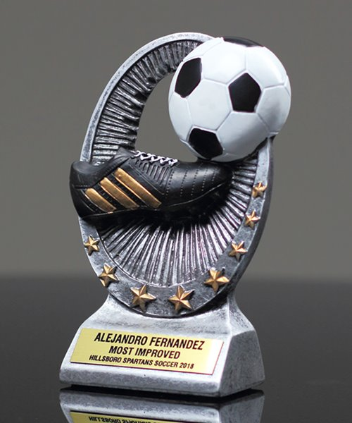 Picture of Soccer Star Resin