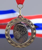 Picture of Basketball Spinner Medal