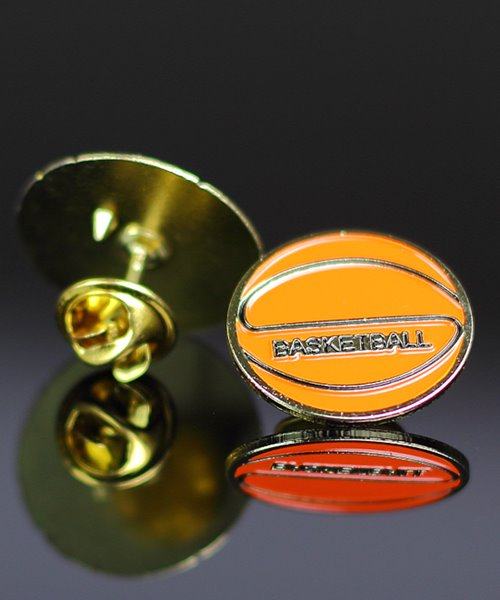 Picture of Basketball Lapel Pin