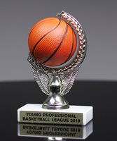 Picture of Squeezable Basketball Spinner Trophy