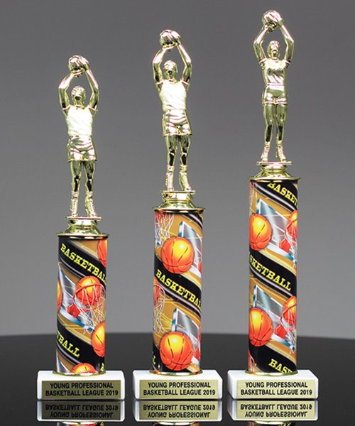 Picture of Photo-Action Basketball Trophy