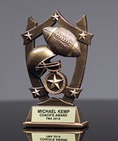 Picture of Star Shield Football Trophy