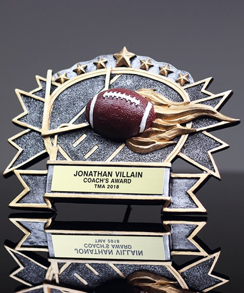 Picture of Silverstone 3-D Football Award