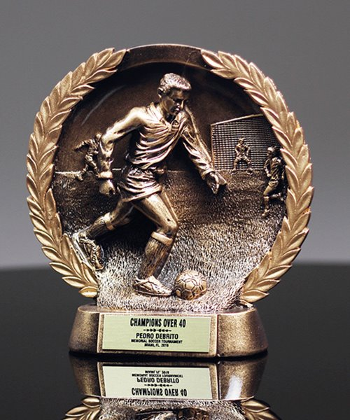 Picture of Bronzestone Soccer Award