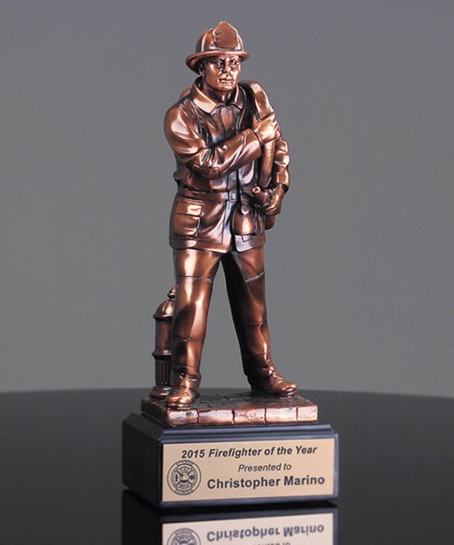 Picture of Fireman Sculpture