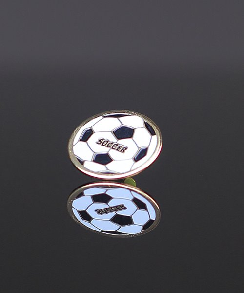 Picture of Soccer Enamel Pin