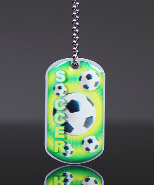 Picture of Soccer Dog Tag
