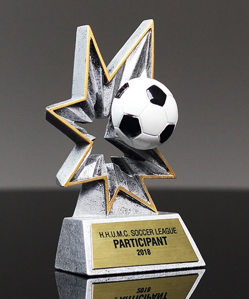 Picture of Bobble Action Soccer Award