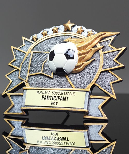 Picture of Silverstone 3-D Soccer Award