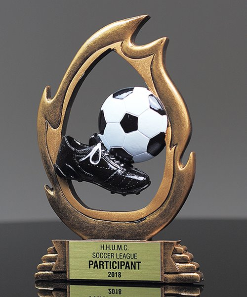 Picture of Flame Soccer Trophy
