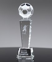 Picture of Crystal Soccer Tower Trophy